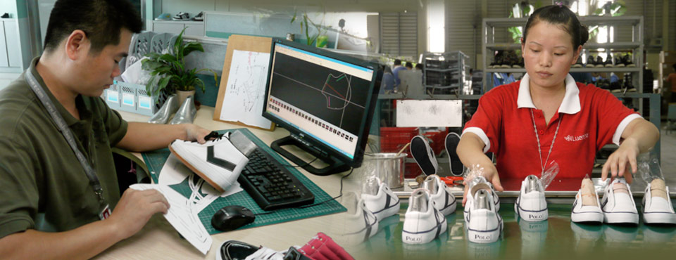Corporate Video Production - Footwear Manufacturing Video