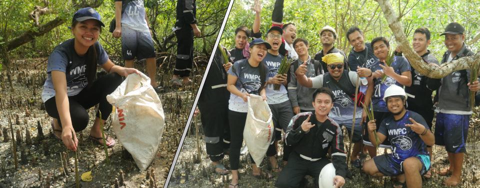 Corporate Social Responsiblity Mangrove Planting